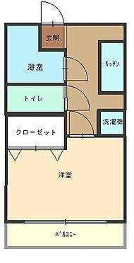 マンション(建物一部)-大阪市港区築港3丁目 間取り