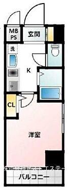マンション(建物一部)-大阪市福島区海老江2丁目 二面開口や収納など入居者ニーズに応える1Kプラン