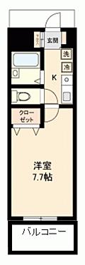 マンション(建物一部)-熊本市中央区熊本市中央区保田窪1丁目 間取り