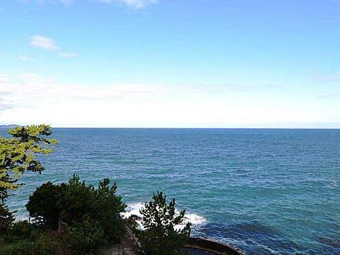 中古マンション-熱海市上多賀 真正面の眺望。水平線が一望です。
