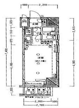 マンション(建物一部)-台東区浅草橋2丁目 間取り