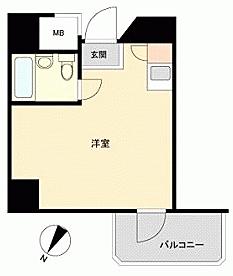 中古マンション-渋谷区本町3丁目 間取り