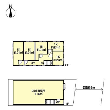 店舗付住宅(建物全部)-江東区東陽3丁目 間取り