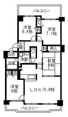 マンション(建物一部)-神戸市北区日の峰5丁目 随所に収納を設け入居者ニーズに応えます