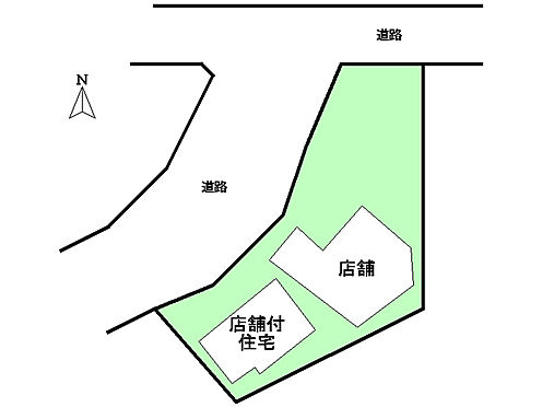 土地-姫路市田寺東4丁目 区画図