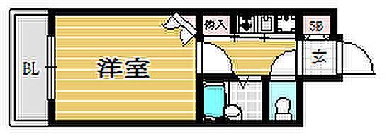 マンション(建物一部)-福岡市中央区渡辺通3丁目 間取り