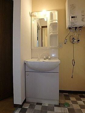 アパート-札幌市豊平区平岸三条16丁目 洗面
