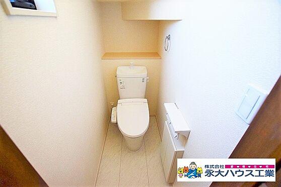 新築一戸建て-岩沼市里の杜3丁目 トイレ