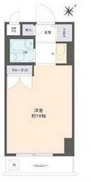 マンション(建物一部)-堺市堺区宿院町西3丁 間取り