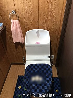 戸建賃貸-桜井市大字粟殿 温水洗浄便座を完備しております。