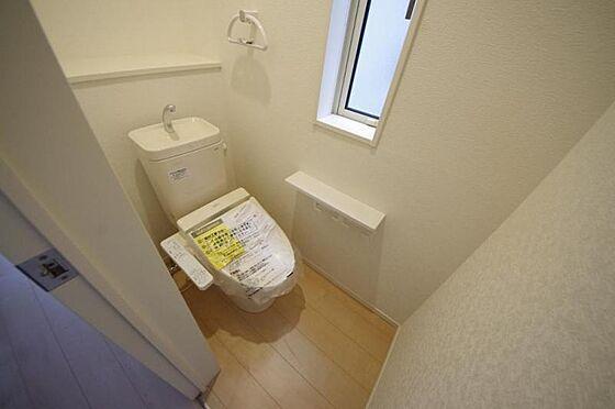 新築一戸建て-角田市梶賀字西 トイレ