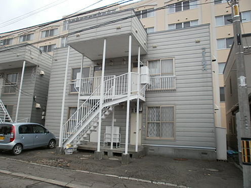 アパート-札幌市南区川沿十三条2丁目 外観
