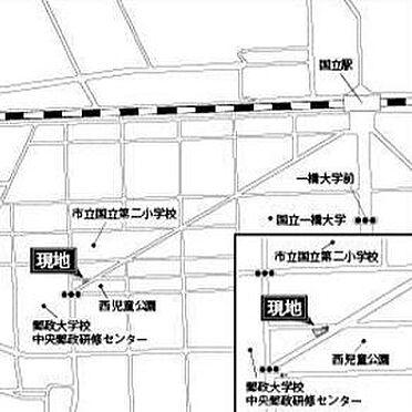 ビル(建物全部)-国立市西2丁目 地図