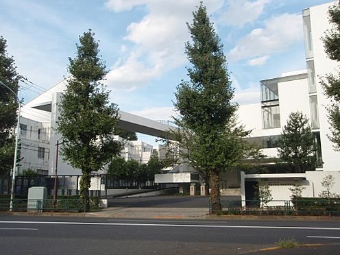 アパート-新宿区西早稲田1丁目 【中学校】獨協中学校まで808m