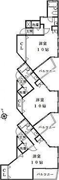 マンション(建物全部)-名古屋市天白区植田西3丁目 間取り