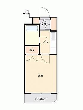 マンション(建物一部)-川崎市宮前区馬絹 間取り