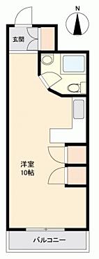 マンション(建物一部)-松山市天山 間取り
