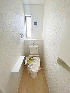 新築一戸建て-奥州市水沢字桜屋敷 トイレ