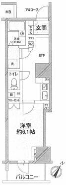 マンション(建物一部)-中央区日本橋人形町2丁目 間取り