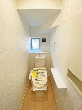 新築一戸建て-奥州市水沢神明町1丁目 トイレ