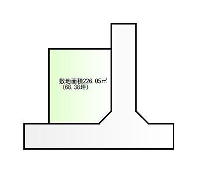 土地-亘理郡山元町浅生原字下宮前 区画図