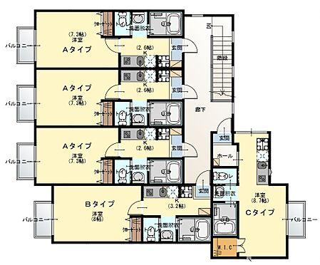 アパート-清瀬市野塩1丁目 間取り2階