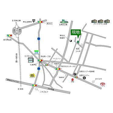 中古一戸建て-東松山市若松町2丁目 地図