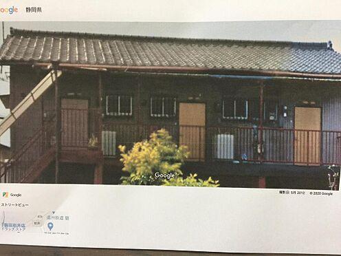 アパート-磐田市西貝塚 物件北側よりの撮影