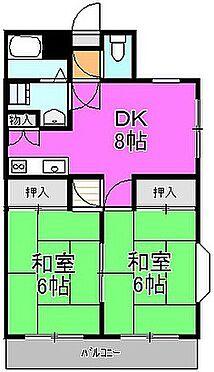 マンション(建物一部)-相模原市中央区田名 間取り
