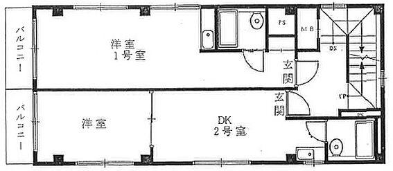 マンション(建物全部)-中野区新井2丁目 3・4階