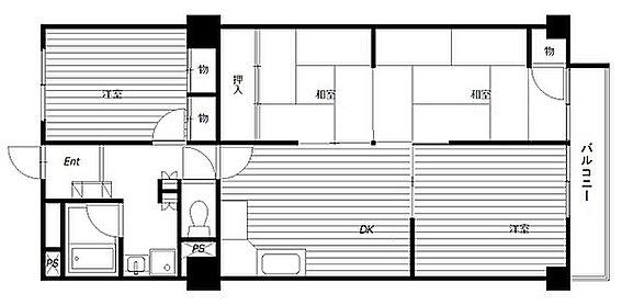 マンション(建物一部)-神戸市北区泉台1丁目 ファミリー向けの4DKプラン