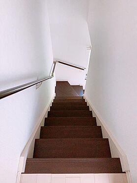 アパート-焼津市大栄町3丁目 階段 各部屋の中に階段があります。