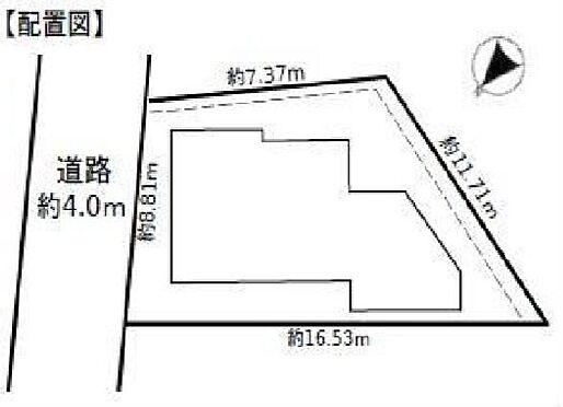 アパート-横浜市港南区港南1丁目 配置図