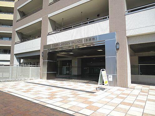 中古マンション-町田市小山ヶ丘3丁目 バスターミナル側のエントランス