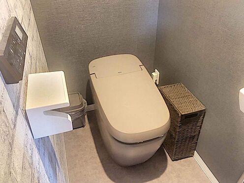 中古マンション-豊田市生駒町大坪 清潔感のあるトイレ。トイレはお客様にも見られる場所なので、清潔に保ちたいですよね。