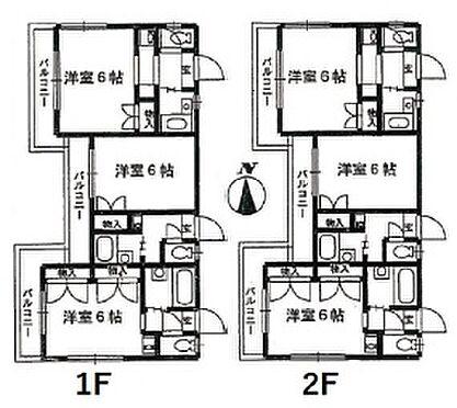 アパート-横浜市港南区笹下2丁目 間取り