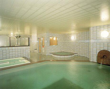 中古マンション-伊東市富戸 温泉大浴場 清掃時間以外は営業しています。夜中も入浴できます。