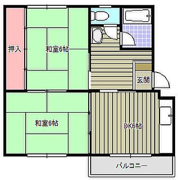 マンション(建物一部)-佐倉市井野 間取り