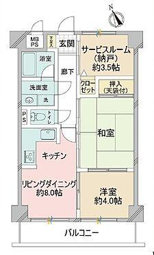 マンション(建物一部)-横須賀市衣笠栄町2丁目 間取り