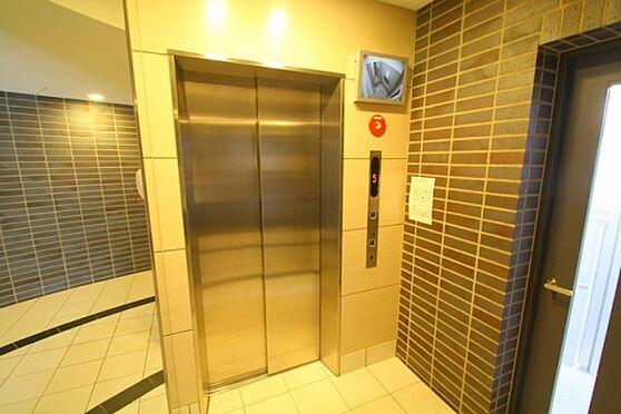 マンション(建物一部)-大阪市都島区東野田町5丁目 防犯性に配慮されたエレベーター