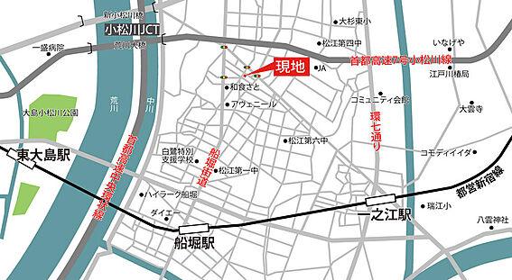 アパート-江戸川区松江3丁目 2駅利用可能
