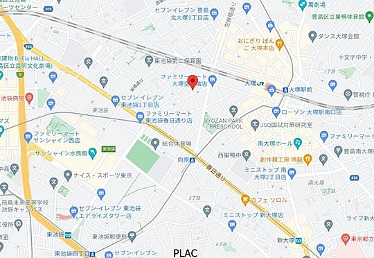 収益ビル-豊島区東池袋2丁目 間取り