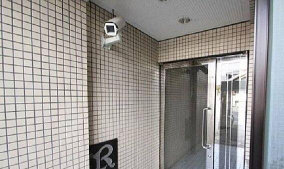 マンション(建物一部)-京都市東山区清水4丁目 防犯カメラも完備