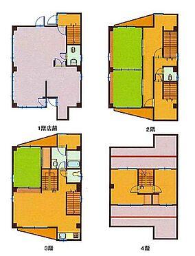 ビル(建物全部)-千葉市中央区登戸 間取り
