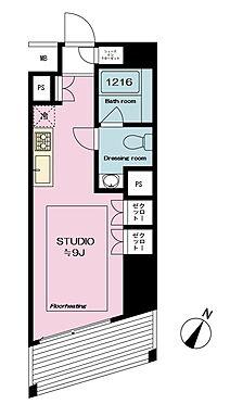 マンション(建物一部)-渋谷区桜丘町 間取り図