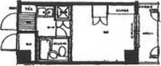マンション(建物一部)-広島市南区比治山町 間取り