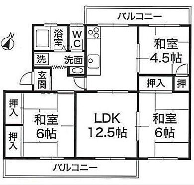 マンション(建物一部)-神戸市北区ひよどり台5丁目 二面バルコニーが魅力