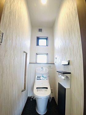 中古一戸建て-安城市東町獅子塚 トイレには快適な温水洗浄便座付き