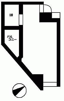 マンション(建物一部)-多摩市一ノ宮 間取り