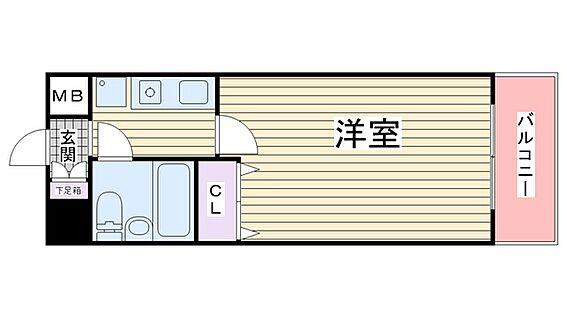 マンション(建物一部)-大阪市東成区中道1丁目 ひとり暮らしに使い勝手いい間取り。